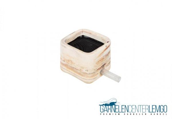 Keramik Diffusor / Luftstein hell ca. 55x55x45mm