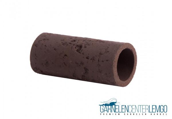 Garnelenrröhre mit Muster - Schwarz/Braun