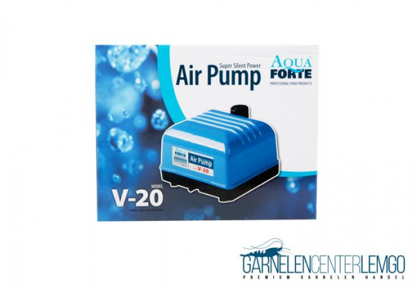 AquaForte V-20 Luftpumpe Hi-Flow
