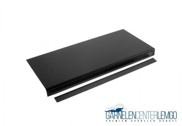 Basic Blende Schwarz matt für Kallax Regal