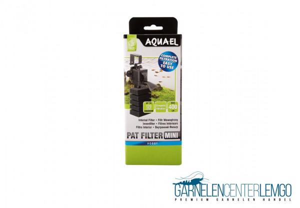 AQUAEL Pat mini Innenfilter + Babygarnelen Schwamm Set