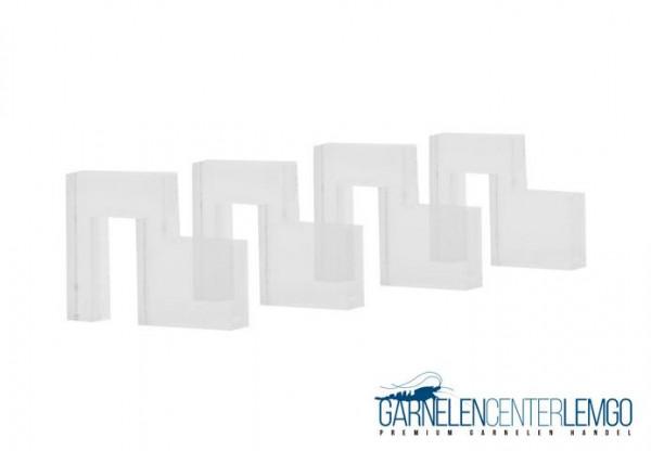 Acryl Halter für Abdeckscheiben 5 mm