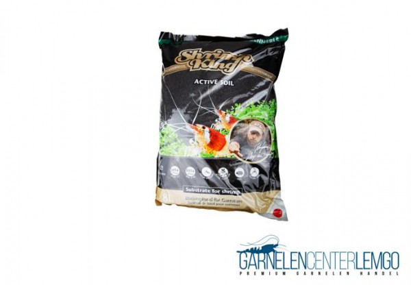 Shrimp King Active Soil - Aktiver Bodengrund - 8 Liter
