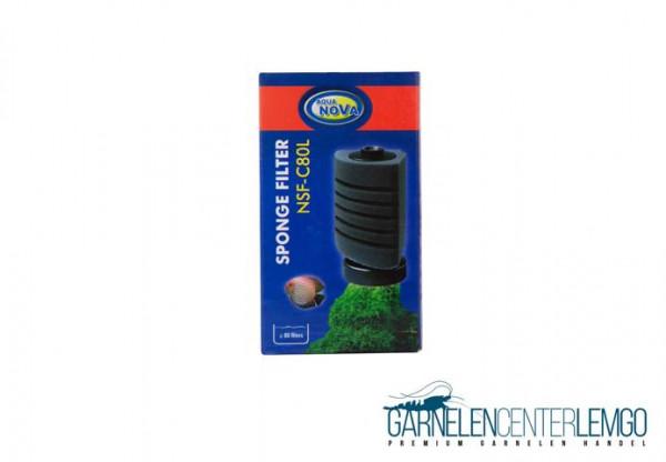 Aqua Nova Stand Bio-Schwammfilter C80L – Garnelensicher