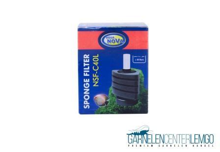 Aqua Nova Stand Bio-Schwammfilter 40 L – Garnelensicher - NSFC40L