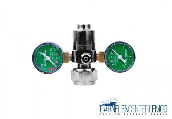 AQUA-NOA Basic CO2 Druckminderer mit 2 Manometern und Feinnadelventil - Mehrweg