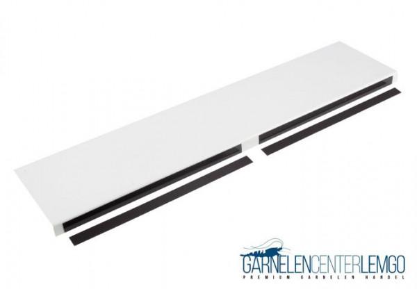 Doppel Basic Blende Weiß, glänzend für Kallax Regal
