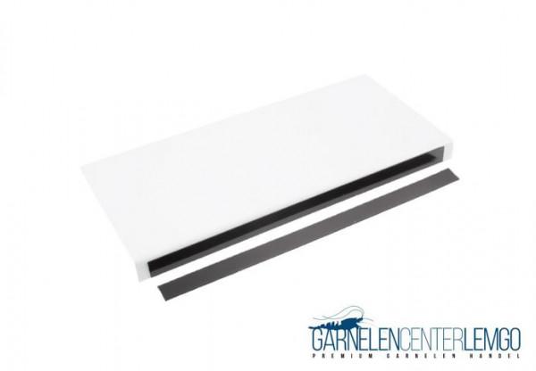 Basic Blende Weiß, glänzend für Kallax Regal