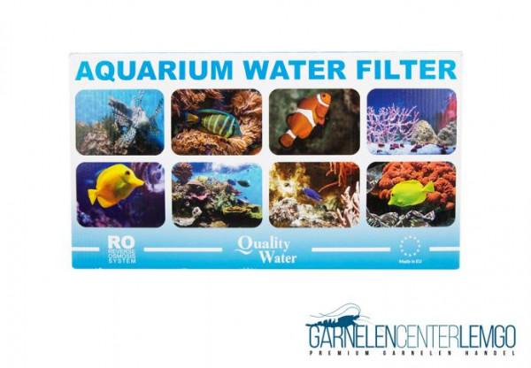 Umkehr Osmoseanlage 100 GPD 380L Tagesl Wasserfilter System mit Wasserhahnadapter