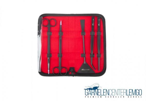 Aquascaping Tool Set, Extra Small für Kallax Aquarien, 20-25cm, GCL Black Edition