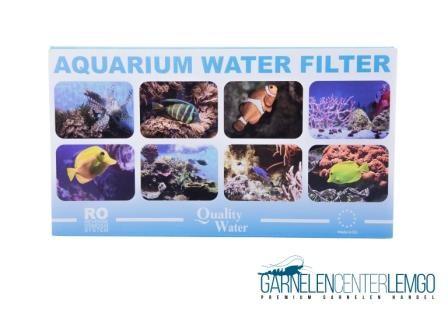 Umkehr Osmoseanlage 75 GPD Wasserfilter System mit Wasserhahnadapter